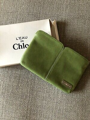 Genuine L'eau De Chloe Makeup Bag Green New Without Tags Ideal Gift • 5.50£