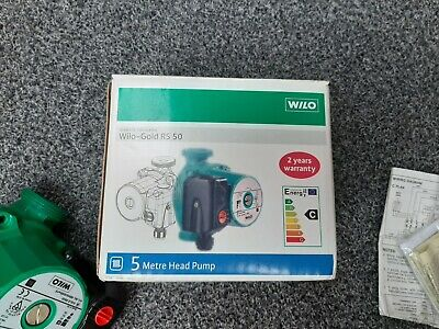 WILO - Gold RS 50, 3 Speed Central Heating Pump • 40£