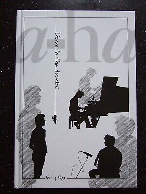 """A-ha: Down To The Tracks Book (autographed) Including Special 7"""" Single NEW • 20£"""