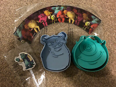 Disney Monsters Inc - Cookie Biscuit Cutters And Cake Toppers • 3.50£