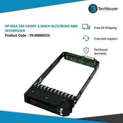 Hp Msa2000 Compatible Sas Caddy 3.5  W/screws And Interposer -  79-00000523 • 36£