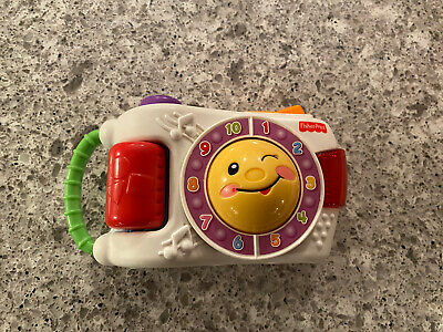 Fisher Price Laugh N Learn Camera, Vgc, Works Perfectly. Great Stocking Filler • 2.50£