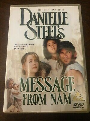 Danielle Steel's Message From Nam (DVD) (2003) (Jenny Robertson) • 1.50£