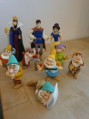 Disney Vietnam Figures Figurine Snow White And The Seven Dwarfs Vintage X9 • 2.50£