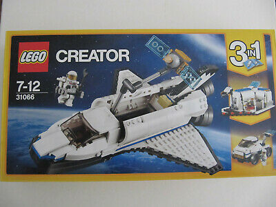 LEGO Creator Space Shuttle Explorer 31066 Brand New And Sealed Retired • 30£