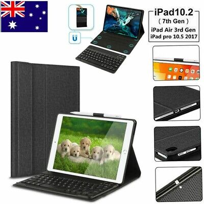 AU37.99 • Buy For IPad Air 3 Gen 2019/Pro 10.5 2017 Keyboard+Leather Case With Pencil Holder