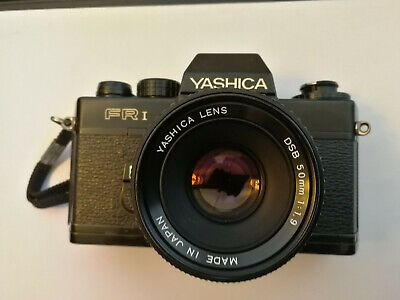 Yashica FR1 Slr With Yashica DSB 50mm F1.9 Lens | Contax Mount • 20£
