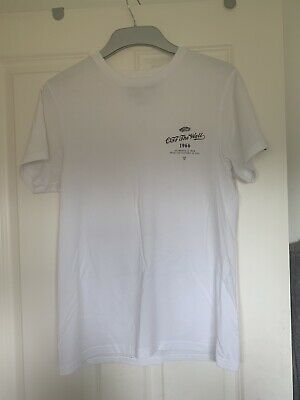 """Authentic VANS """"Off The Wall"""" White T Shirt - Size S • 7£"""