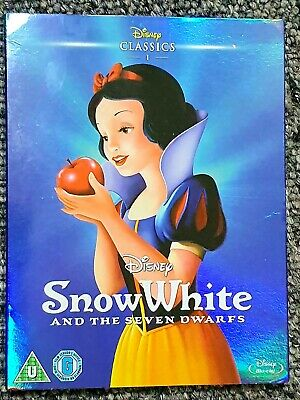 Disney Classics: SNOW WHITE And The SEVEN DWARFS (1937) Blu-ray Edition • 2£