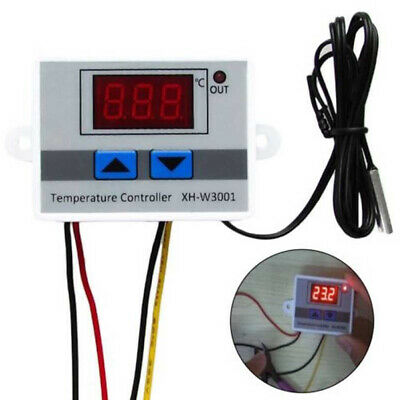 Intelligent Digital Temperature Controller Thermostat Temp Control Switch +Probe • 6.89£