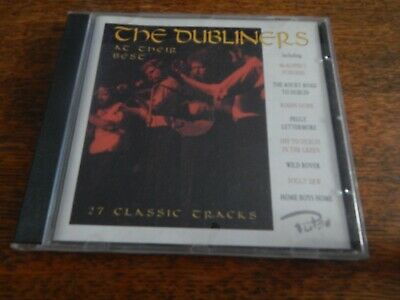 The Dubliners Cd At Their Best 1996 27 Classic Tracks • 1.10£