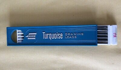 12 Eagle Turquoise Drawing Pencil Leads H .New Unused. • 3£