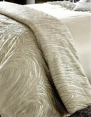 New Kylie Minogue At Home Stunning Embellished CONTOUR Bed Throw 130x220cm Next • 100£