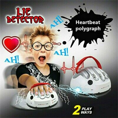 £13.48 • Buy Lie Detector Electric Shocking Liar Test Truth Dare Game Party Polygraph Toys