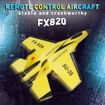 FX-820 Fixed Wing Mini Remote Control Aircraft RC Airplane Plane Toy Gift • 26.99£