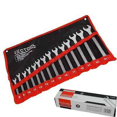 $ CDN16.51 • Buy TecTool 14pc Matt Finished Metric Combination Spanner Wrench Set 8mm - 24mm