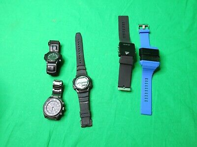 $ CDN45.41 • Buy Lot Of 5 Men's Watches, Diesel,seiko,.Adidas,and 2 Casio