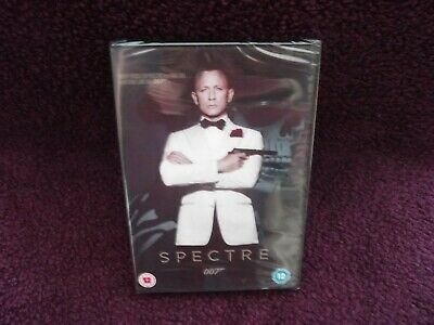 James Bond 007 Spectre DVD (2015) Daniel Craig Brand New & Sealed MGM  • 5.99£