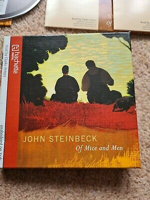 Of Mice And Men By Steinbeck, John CD-Audio Book The Cheap Fast Free Post • 3.20£