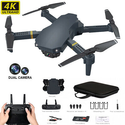 1080P RC 4K HD Drone X Pro WIFI FPV Camera 3D Foldable Selfie Quadcopter Gift UK • 32.39£