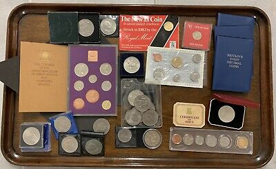 Great Job Lot Of Foreign And UK Coins And Notes - UK, Isle Of Man And Canada. • 16£