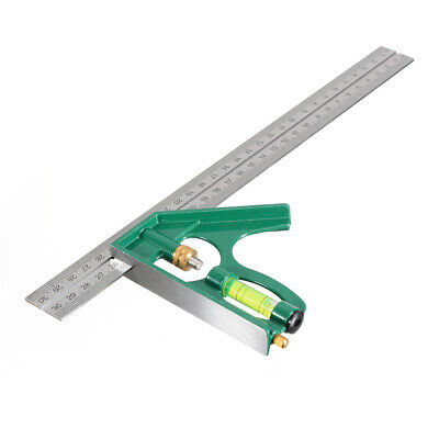 300mm (12 ) Adjustable Engineers Combination Try Square Set Right Angle Ruler UK • 3.39£