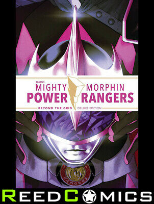 £49.99 • Buy MIGHTY MORPHIN POWER RANGERS BEYOND THE GRID DELUXE EDITION HARDCOVER *352 Pages