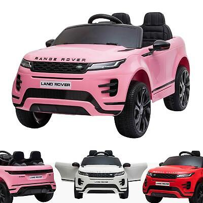 £249 • Buy Kids 12V Range Rover Evoque Licensed Electric Battery Ride On Car With Remote