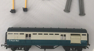 Tri-ang Hornby Boxed Used R402M Blue/Grey Royal Mail Operating Mailcoach Set • 4.99£