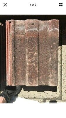 Marlow Major Concrete Roof Tiles (shed Roof Project??) • 45£