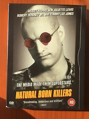 Natural Born Killers (DVD, 2001, Box Set) • 0.99£
