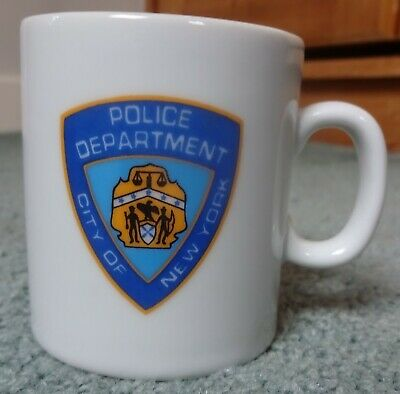 NYPD Police Department City Of New York Novelty Mug • 1.99£