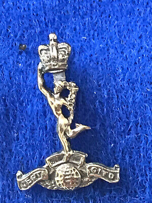 Vintage Royal Corps Of Signals Silver Pinbadge • 9.99£