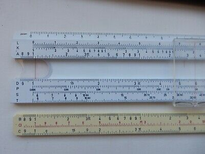 Blundell 606 5  Slide Rule, Leather Case With Original German Instructions • 2.99£