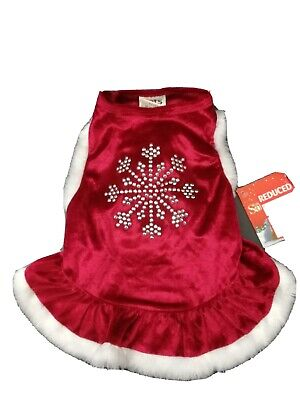Christmas Dog Dress Coat From Pets At Home • 8£