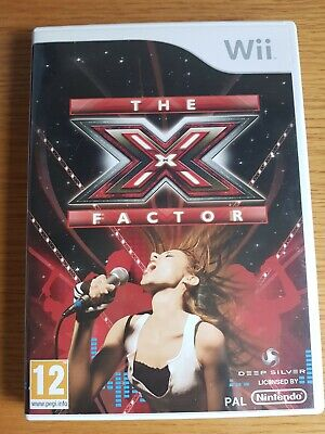 The X Factor Nintendo Wii Game - PAL - Singing - Free P&P Gift Complete  • 3.99£