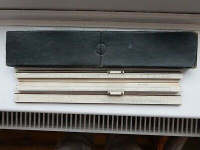 Thornton PIC No 111 Slide Rule And Case From 1930`s • 4.99£