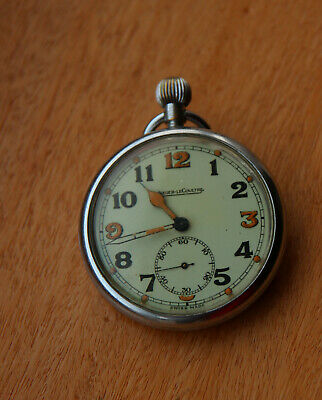 Jaeger Lecoultre WWII, Pocket Watch, 467/1, Low Serial No. • 450£