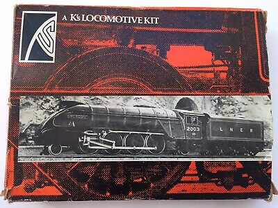 K's KEYSER METAL LOCOMOTIVE KIT BOXED L.N.E.R GRESLEY CLASS P2 2-8-2 00 GAUGE • 52£