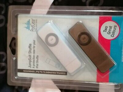 Podgear Jumpsuit  2 X Protective Cases For Ipod Shuffle 1 X White & 1 X Grey New • 1.40£