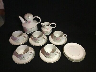 Wedgewood Stonehenge Oven-to Tableware. Midwinter Carnation Tea Set • 20£