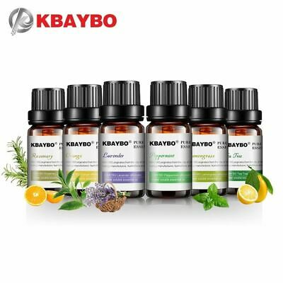 AU28 • Buy KBAYBO 6 Bottles Pure Essential Oils For Aromatherapy Diffusers