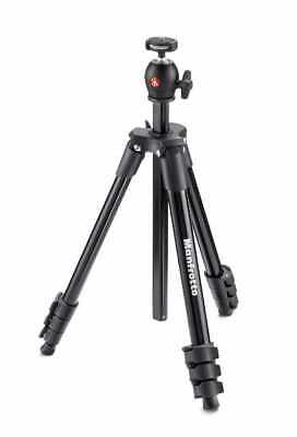 AU129 • Buy Manfrotto MKCOMPACTLT-BK Compact Light - Black Tripod With Ball Head & Carry Bag