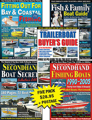 AU19.95 • Buy Trailerboat Buyer's Guides Five Pack: Reviews On Quintrex, Savage, Haines Hunter