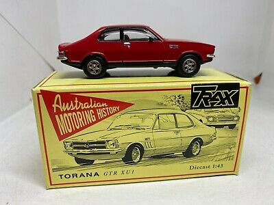 AU95 • Buy Trax 1:43 TR8 Holden Torana GTR XU1 Red Boxed