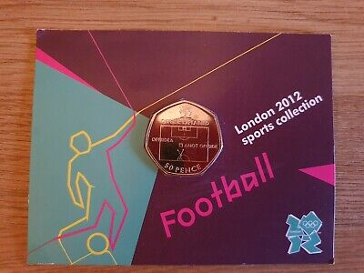 Football Offside Rule 12/29 Olympic 50p Uncirculated  • 28£
