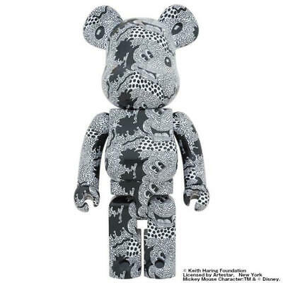 $1390 • Buy MEDICOM TOY  BE@RBRICK Keith Haring Mickey Mouse1000% Bearbrick
