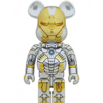 $4790 • Buy MEDICOM TOY  BE@RBRICK SORAYAMA IRON MAN  1000% Bearbrick