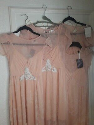 Bridesmaid Flower Girls 4 Dresses Uk Size 6 New With Out Tags • 39.99£