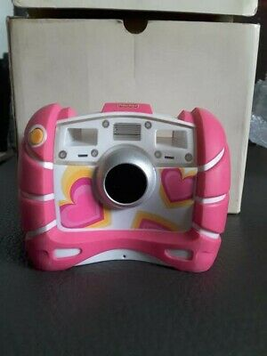 Fisher Price Childrens Digital Camera In Pink. Kid Tough.Comes With Box. • 5£